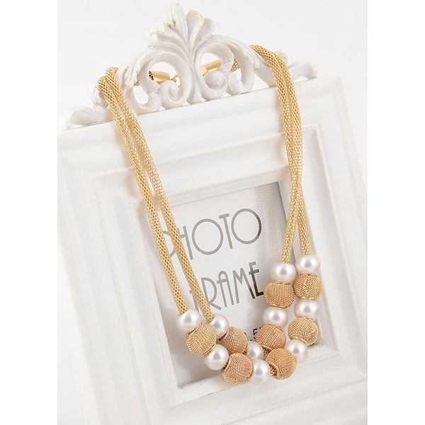 Party Ball Pendant Necklaces (1845578681)