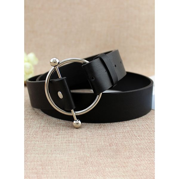 Casual Metal Hollow Out Solid Belts (1795336621) 3