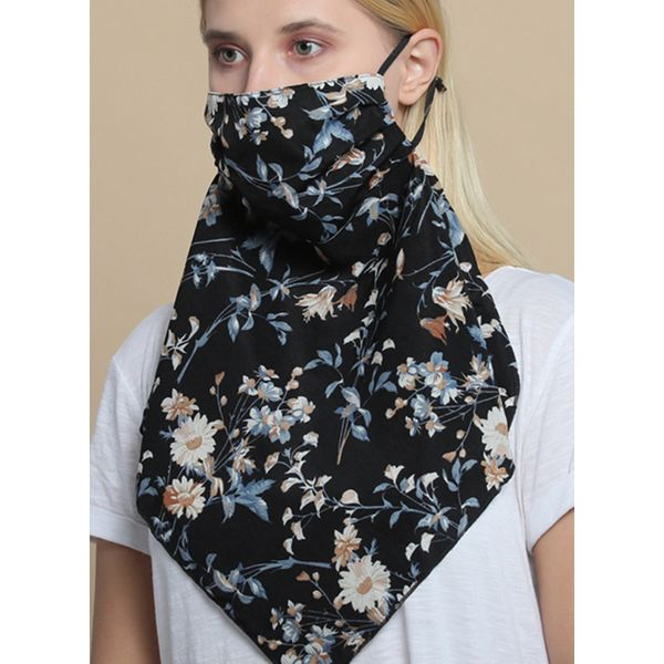 Casual Floral Scarves (1775595219)