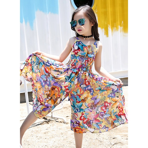 Girls' Animal Beach Sleeveless Dresses (30135298161) 11
