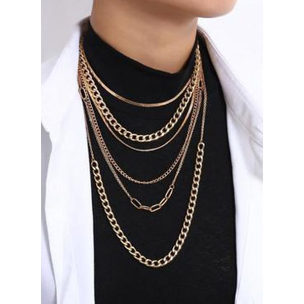 Club No Stone Without Pendant Necklaces (1845569845)