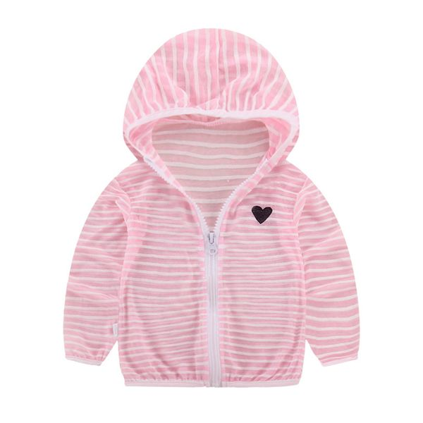 Girls' Casual Geometric Hooded Coats (30235380666) 2