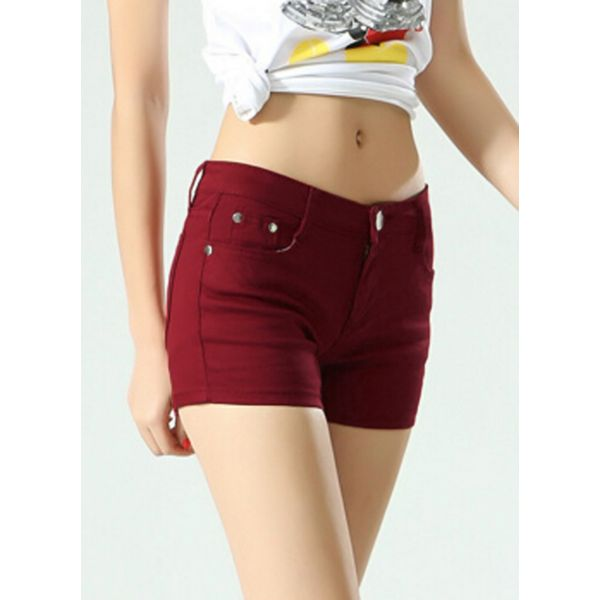 Straight Shorts Pants & Leggings (1745377009) 6