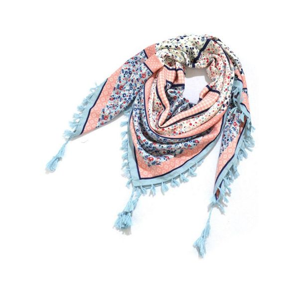 Casual Floral Scarves (1775476827)