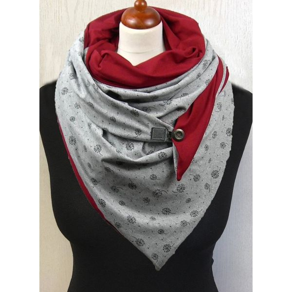 Casual Floral Scarves (1775532651)
