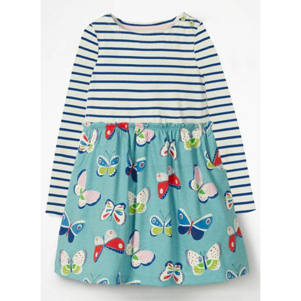 Girls' Sweet Animal Going Out Long Sleeve Dresses (30135339407) 9