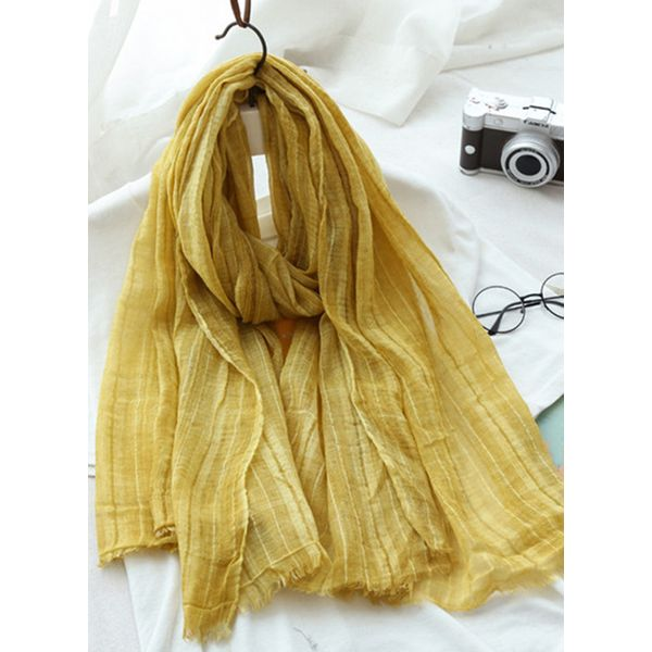 Casual Solid Scarves (1775383266) 3