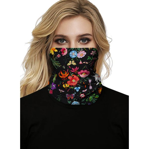 Casual Floral Scarves (1775577841)