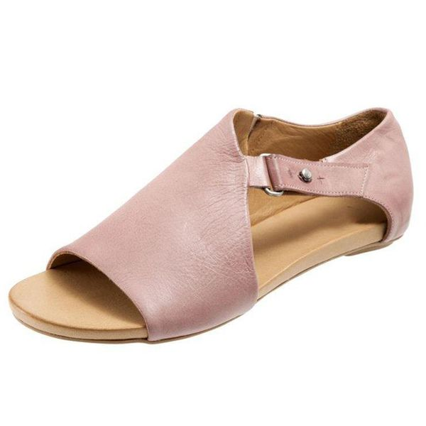 Buckle Flats Flat Heel Shoes (1625376869) 10