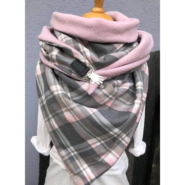 Casual Check Scarves (1775532650)