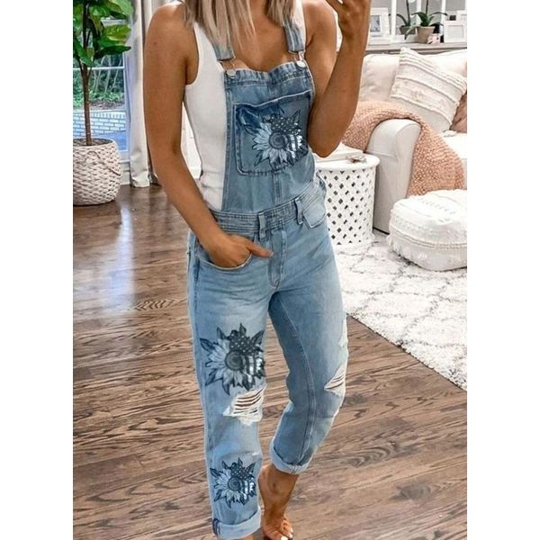 Women's Straight Jeans Jumpsuits (1745577822)