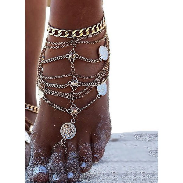 No Stone Round Anklet (1905300153) 11