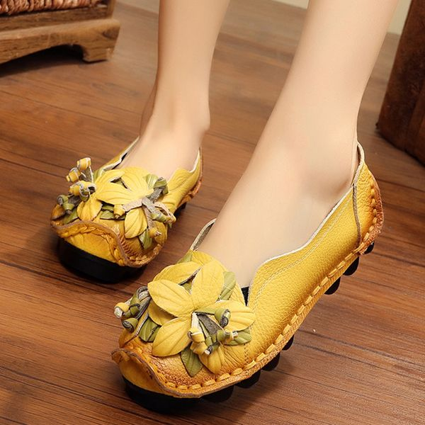 Flower Flats Flat Heel Shoes (1625379936) 2