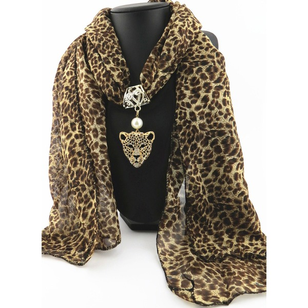 Casual Leopard Scarves (1775284337) 9
