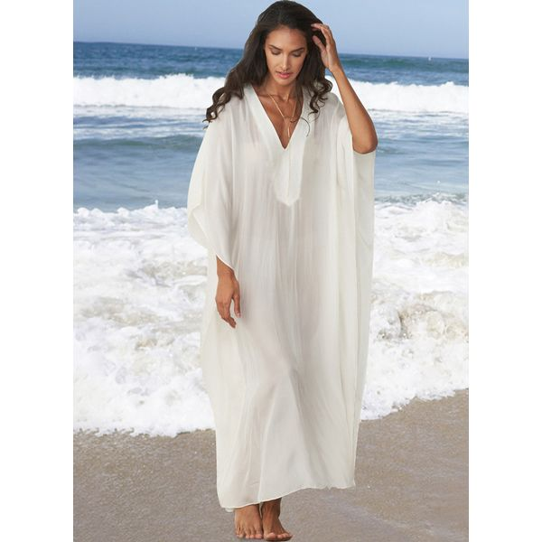 Solid Cover-Ups Swimwear (30015381839) 4