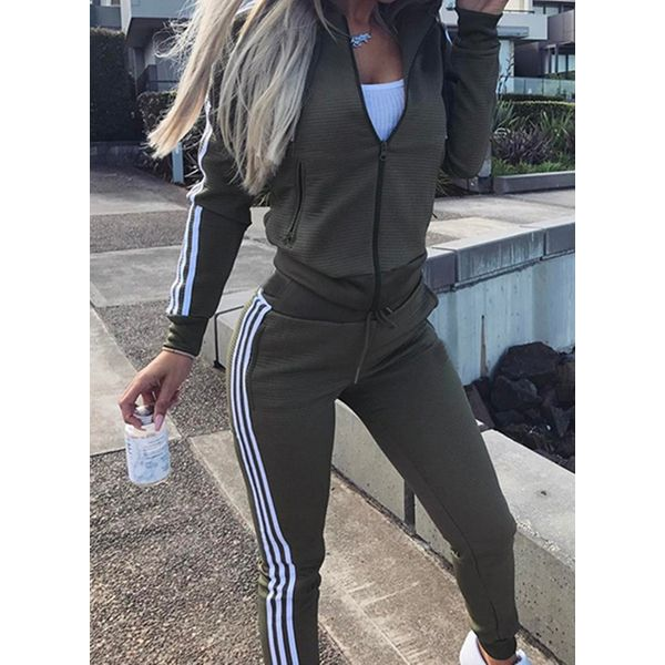 Women's Basic Cotton Blends Fitness Clothing Suit Fitness & Yoga (30445582545)