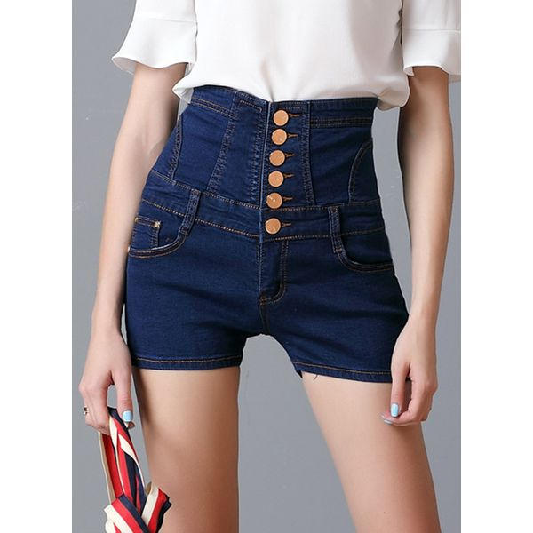 Skinny Shorts Pants & Leggings (1745380078) 1