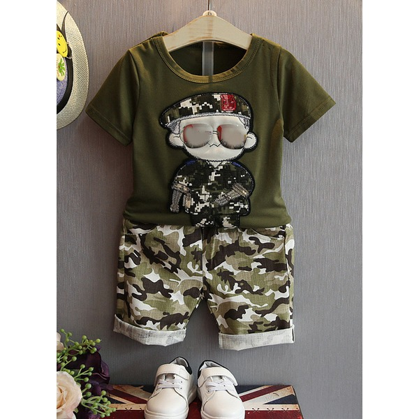 Boys' Character Daily Short Sleeve Clothing Sets (30165285450) 4