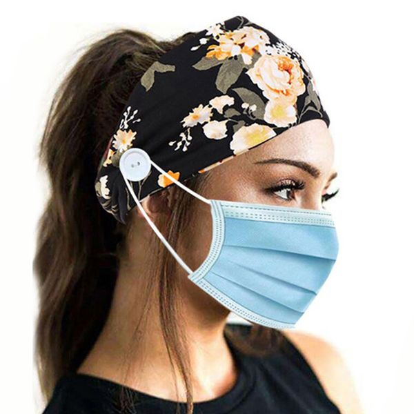 Casual Buttons Floral Hats (1835584565)