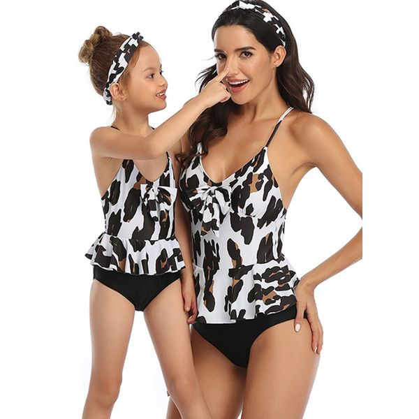 Mommy and Me Floral Casual Sleeveless Family Outfits (30245595122)