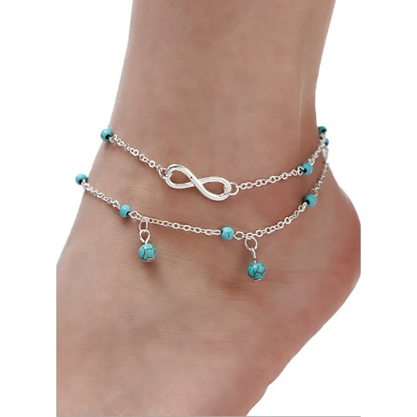 No Stone Ball Round Anklet (1905300150) 2