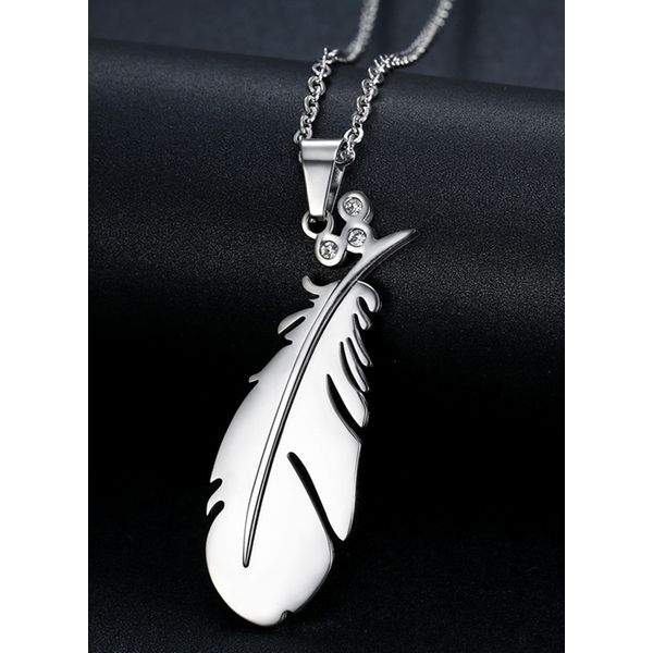 Casual Crystal Pendant Necklaces (1845579189)