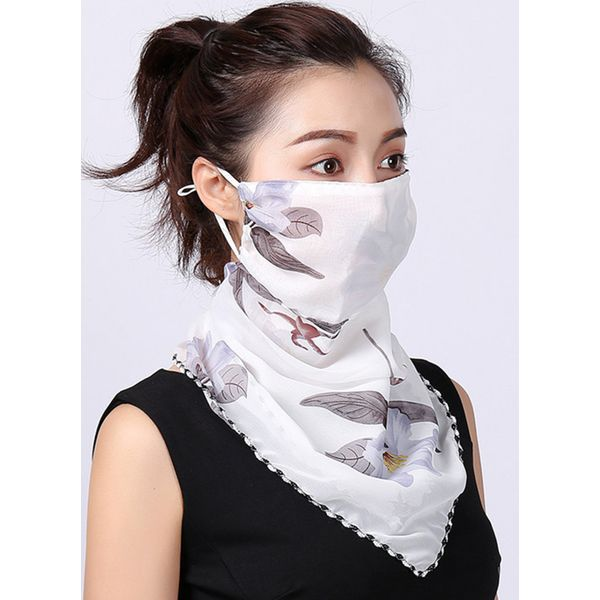 Casual Floral Scarves (1775593187)