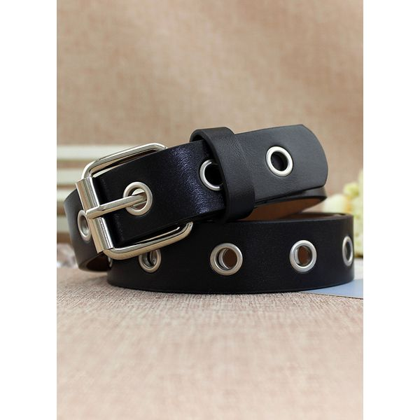 Vintage Metal Hollow Out Solid Belts (1795336617) 11