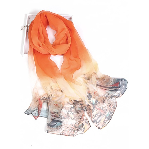 Casual Color Block Scarves (1775284380) 9