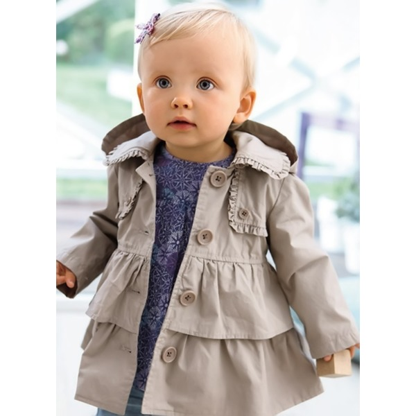 Girls' Solid Hooded Coats (30235325472) 9