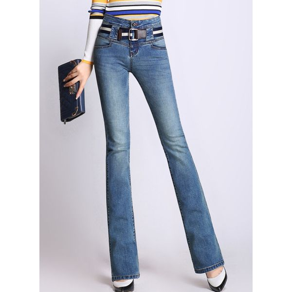 Bootcut Jeans Pants & Leggings (1745380067) 12