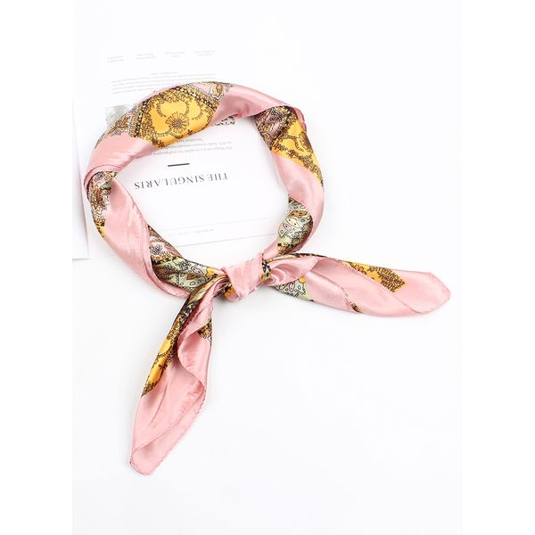 Casual Floral Scarves (1775417971, Black;blue;red;yellow;military green