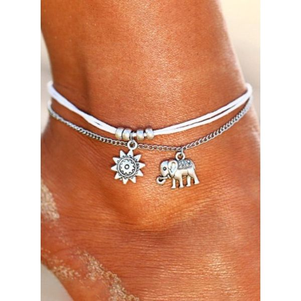 Casual No Stone Animal Anklet (1905597172)