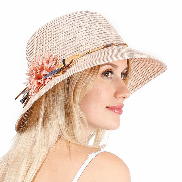 Casual Floral Hats (1835557507)