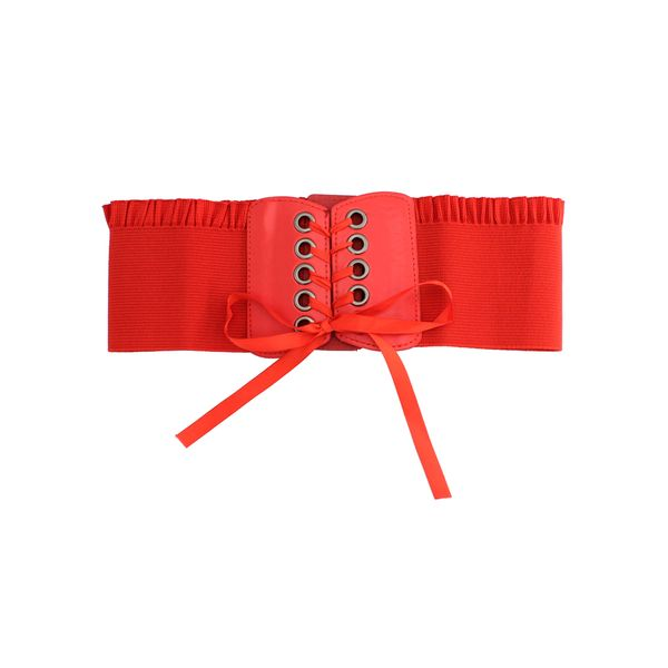 Casual Bow Ruffles Solid Belts (1795563423)