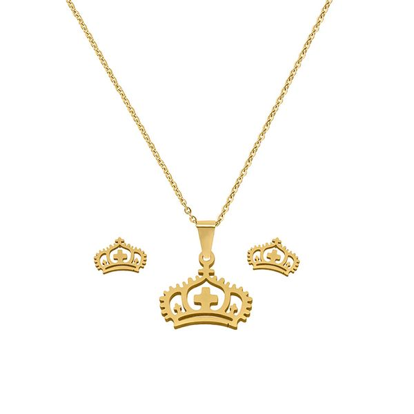 No Stone Necklace Jewelry Sets (1935568079)