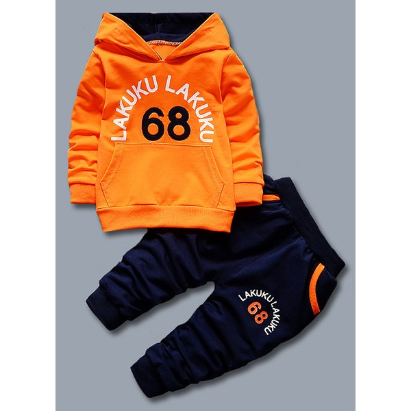 Boys' Print Going out Long Sleeve Clothing Sets (30165317053) 10