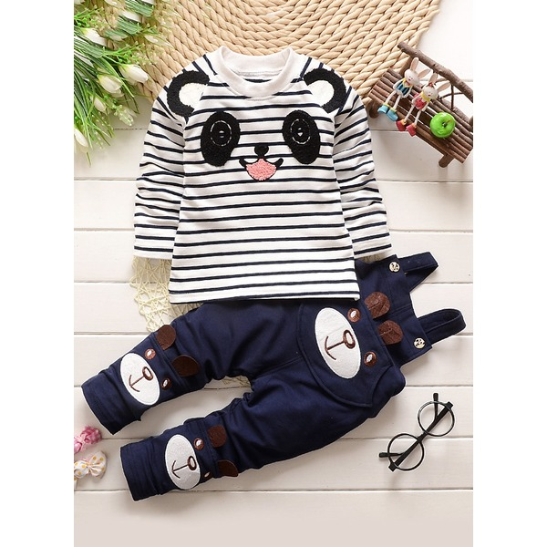 Girls' Cartoon Going out Long Sleeve Clothing Sets (30145315095) 5
