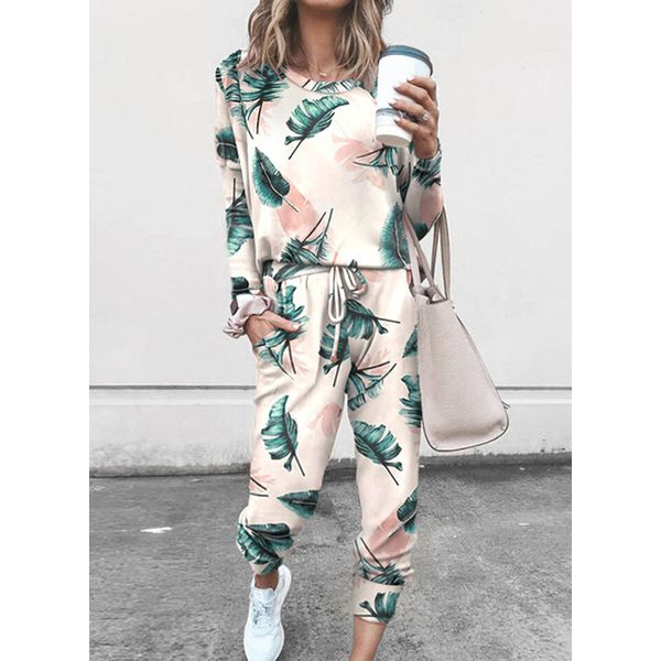 Women's Casual Polyester Fitness Clothing Suit Fitness & Yoga (30445591243)