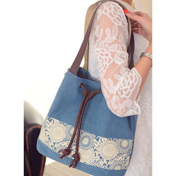 Tote Fashion Print Double Handle Bags (1825550063)