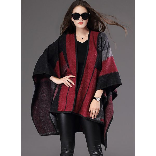 Long Sleeve Collarless Coats (1715378812) 5