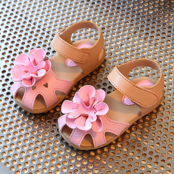 Girls' Flower Hollow-out Party & Evening Girls' Shoes (30195376713)