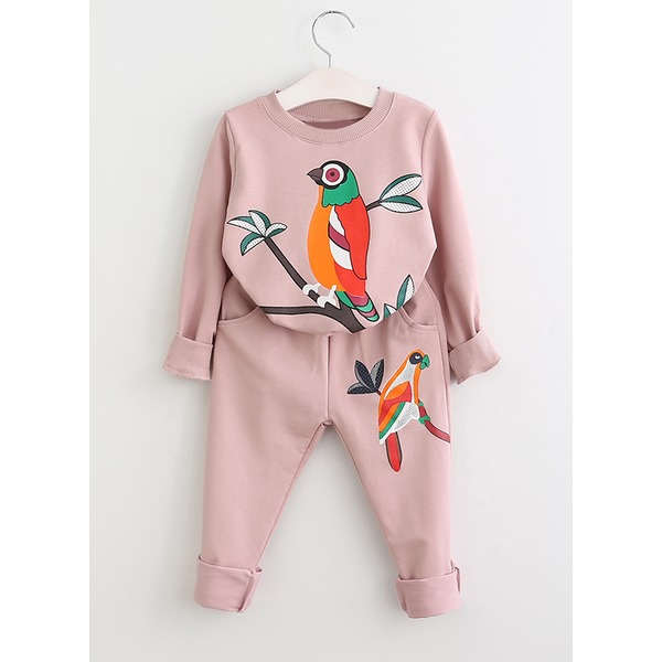 Girls' Animal Going out Long Sleeve Clothing Sets (30145285734) 3