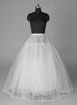 Women Nylon/Tulle Netting Tea-length 4 Tiers Petticoats (03705028719)