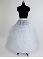 Women Nylon/Tulle Netting Floor-length 3 Tiers Petticoats (03705028715)
