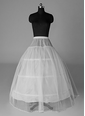 Women Nylon/Tulle Netting Tea-length 1 Tiers Petticoats (03705028724)