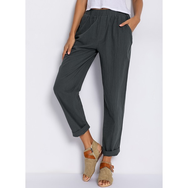 Airycloth coupon: Women's Plus Size Straight Pants (01745321872)