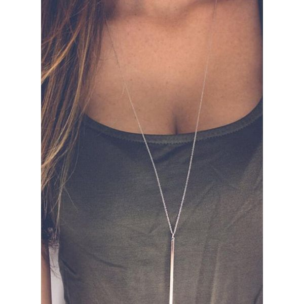 Airycloth coupon: Casual Geometric No Stone Pendant Necklaces (1845554702)