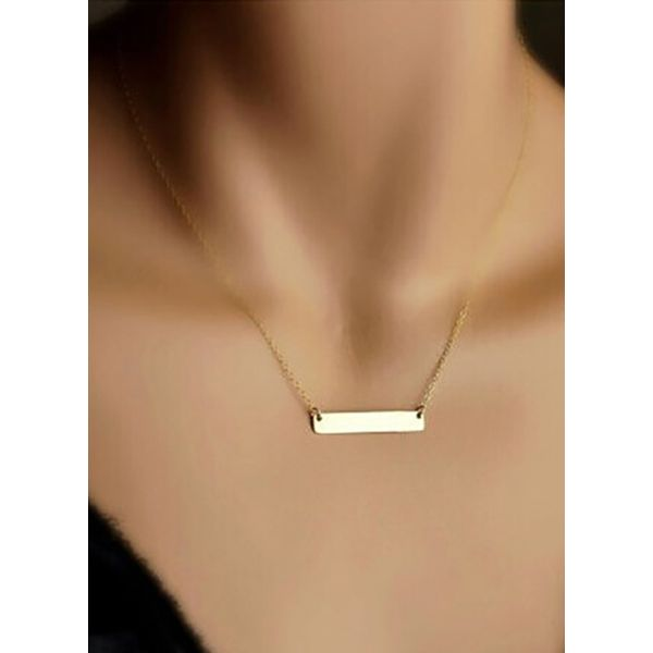 Airycloth coupon: Casual Geometric No Stone Pendant Necklaces (1845591795)