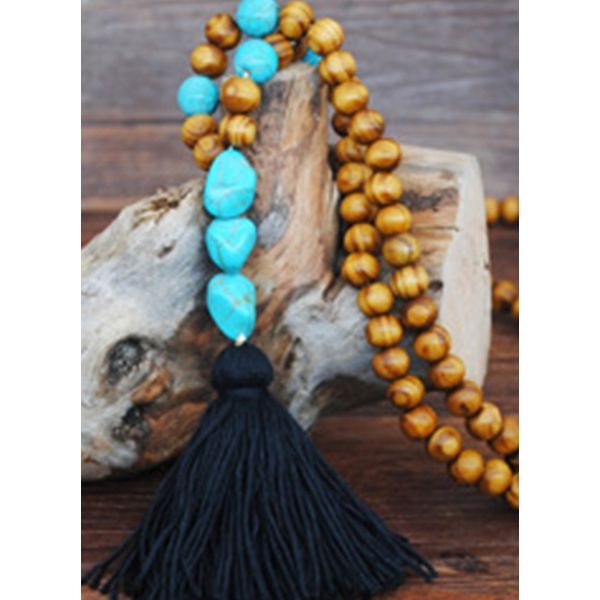 Casual Tassel Pendant Necklaces (1845601649) - Black, FloryDay, Apparel & Accessories, Jewelry  - buy with discount